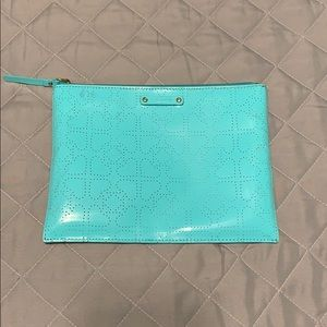 Kate Spade Cosmetic Bag Turquoise